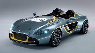 Aston Martin CC100 został zaprezentowany przy okazji tegorocznego, 24-godzinnego wyścigu Nürburgring w Szwajcarii.