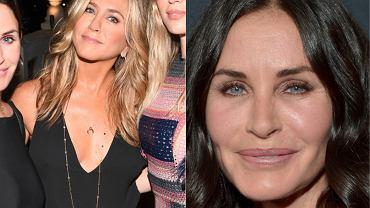 Jennifer Aniston / Courteney Cox w 2015 r.