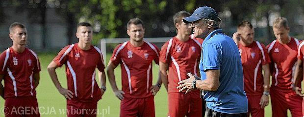 Górnik Zabrze - trener i jego ekipa