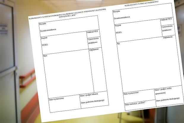 Od 18 kwietnia papierowe recepty tylko na nowych drukach. Czy stare recepty stracą ważność?
