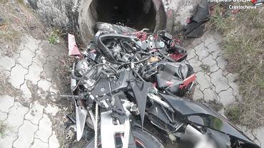 Śmiertelny wypadek motocyklisty na DK 1