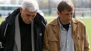 Kwiecień 2005 roku. Zbigniew Śmiglak i Jarosław Araszkiewicz