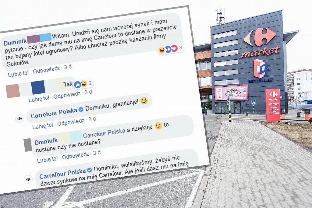 Pan Dominik pyta a Carrefour odpowiada