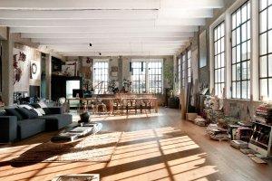Wnętrza: loft w dawnej włoskiej fabryce