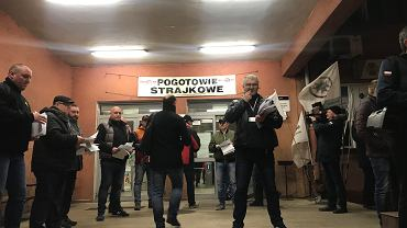 Strajk ostrzegawczy w kopalniach PGG
