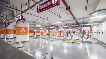 Największa stacja ładowania samochodów elektrycznych została uruchomiona w Szanghaju