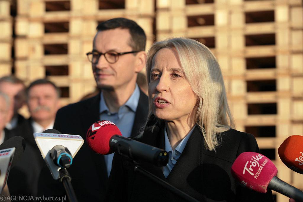 Minister finansów Teresa Czerwińska.