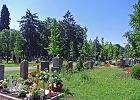 Pogrzeb po niemiecku: nagrobek i trumna z Polski, krematorium w Czechach