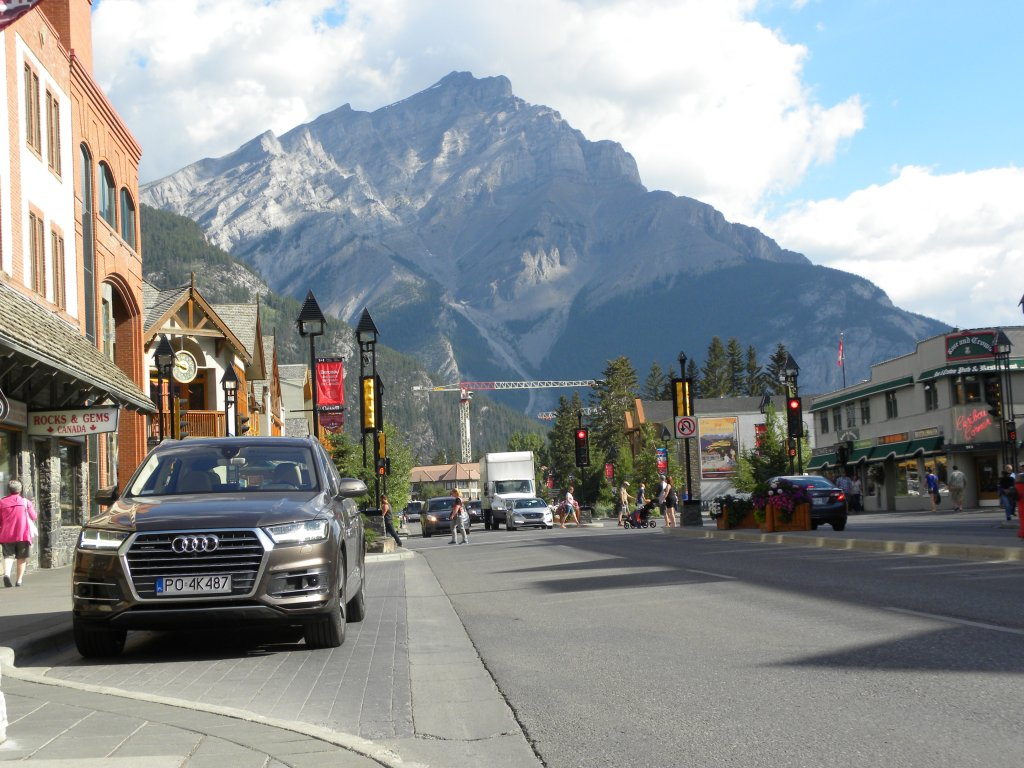 Audi Q7   Podróż po Kanadzie