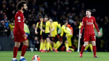 Liverpool przegrał z Watford
