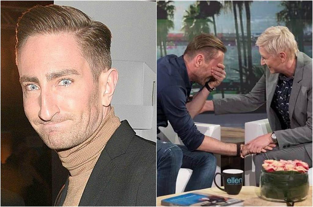 Łukasz Jakóbiak i 'Ellen DeGeneres'