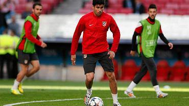Diego Costa na treningu