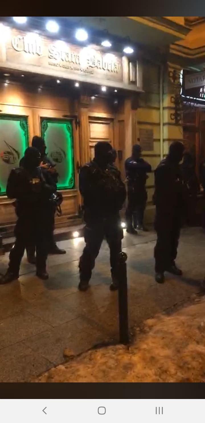 Zdjęcie numer 3 w galerii - Policja blokowała wstęp do pubu Stara Babcia.
