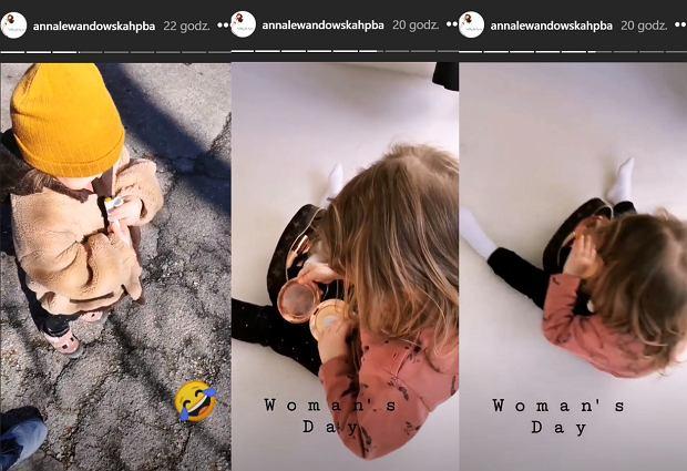 Klara Lewandowska zabrała mamie kosmetyczkę