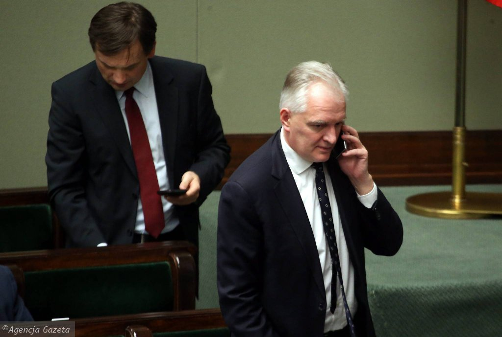 Minister Jarosław Gowin