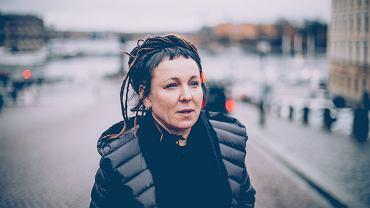 Olga Tokarczuk w Sztokholmie, 6 grudnia 2019 r.