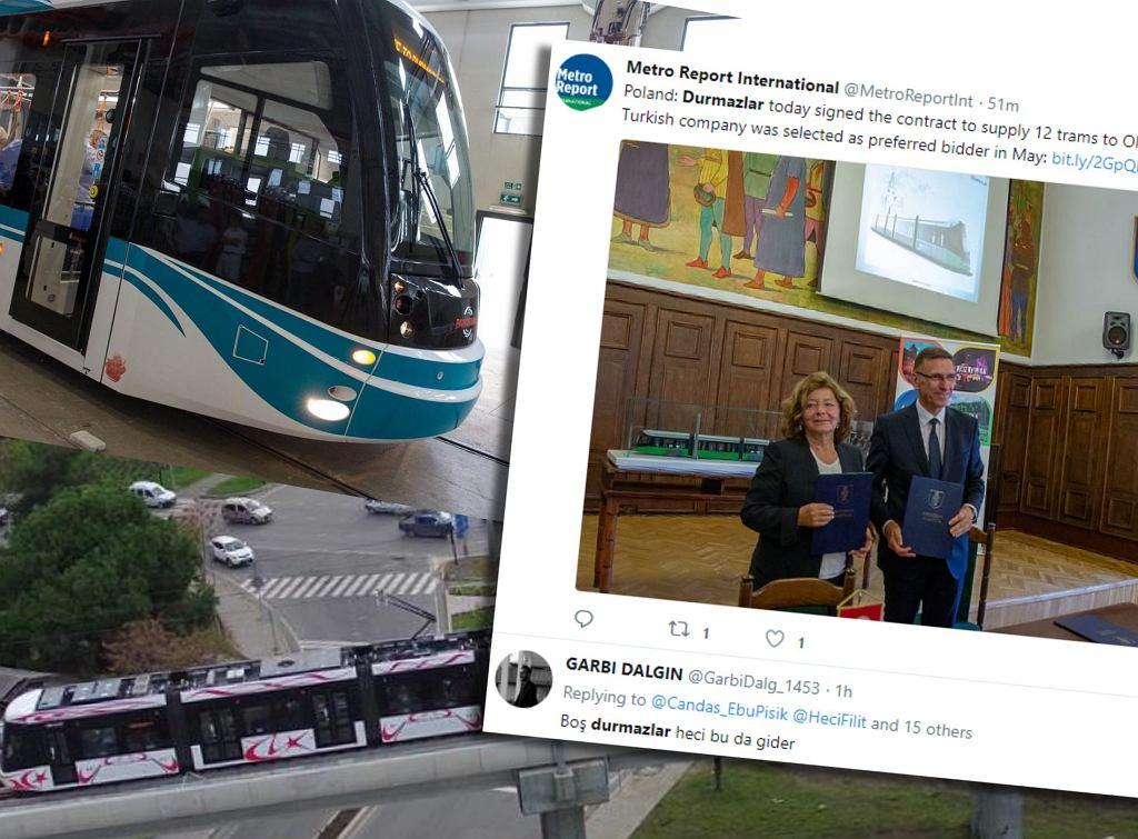 Olsztyn zamówił tramwaje w fabryce Durmazlar