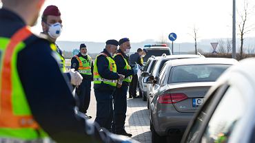 Kontrole na granicy węgiersko-słoweńskiej