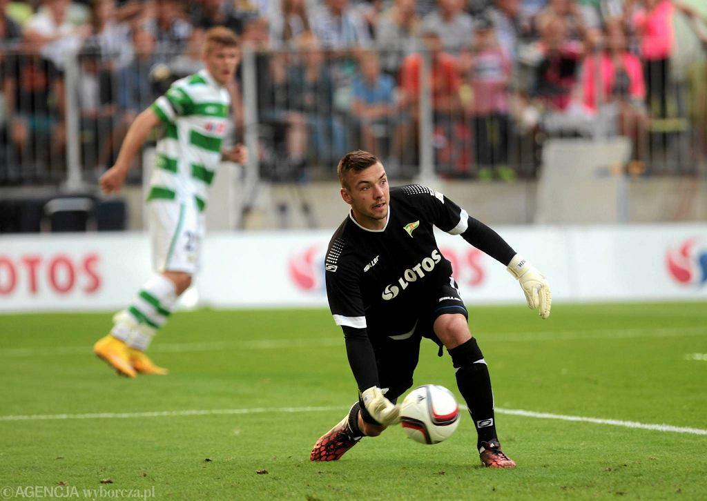 Lechia - Juventus 1:2. Łukasz Budziłek