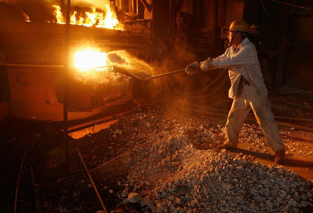 Chiny, produkcja stali