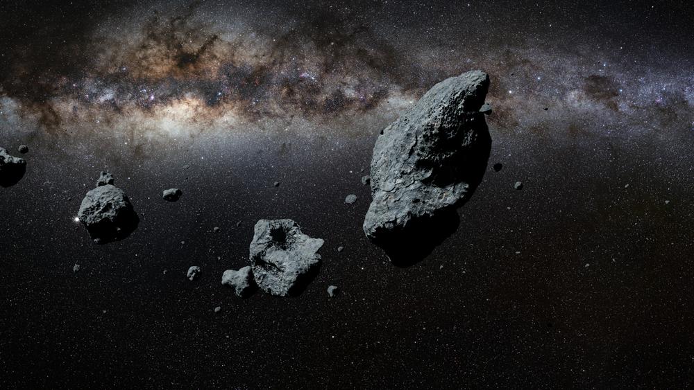 Na dłuższą metę wydobywanie surowców z asteroidy w celu sprzedawania ich potem na Ziemi raczej nie będzie opłacalne (fot. Shutterstock)