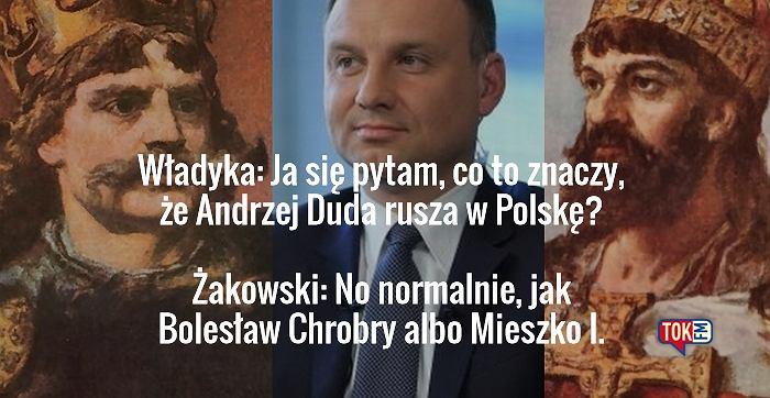 Bolesław Chrobry, Andrzej Duda i Mieszko I