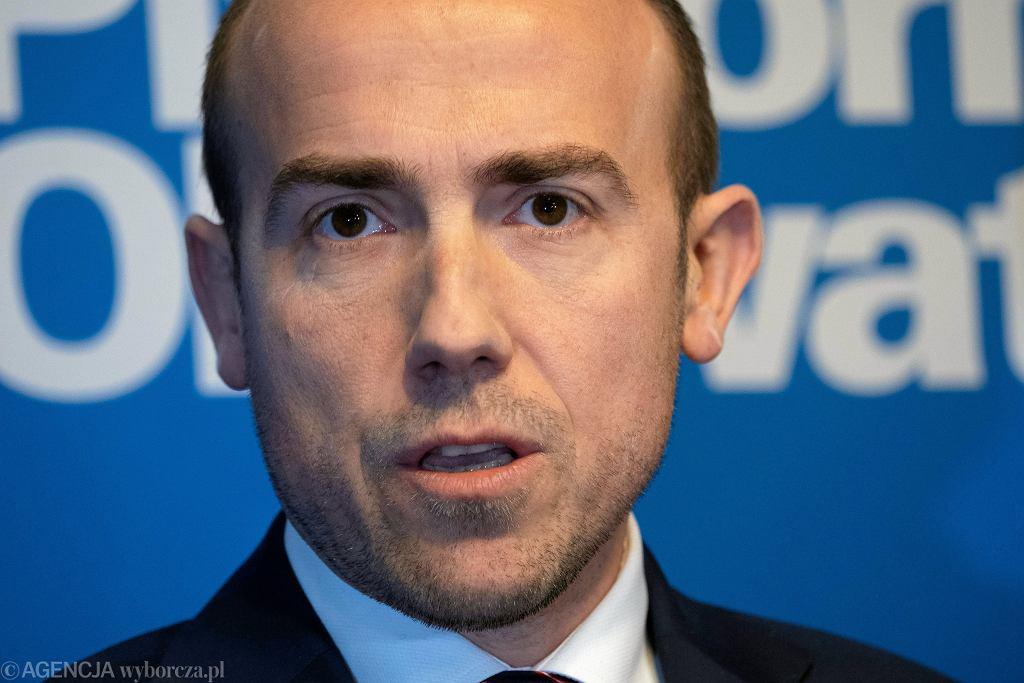 Borys Budka. Przewodniczący Platformy Obywatelskiej.