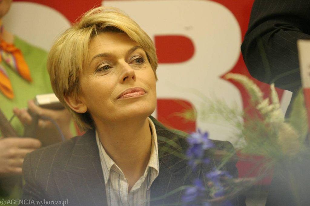 Izabela Jaruga-Nowacka (fot. Paweł Małecki / Agencja Gazeta)