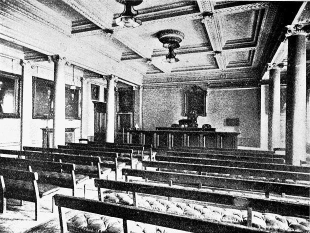 Burlington House - siedziba Royal Society do 1968 r.