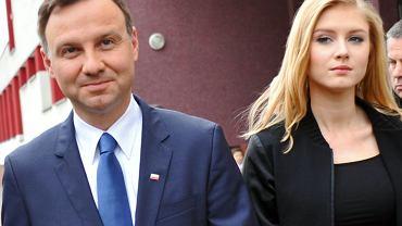 Andrzej Duda dotąd nie mówił o relacjach z córką. Teraz wyznaje: Mamy różnice w wielu sprawach