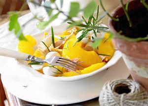 Ananas z mozzarellą