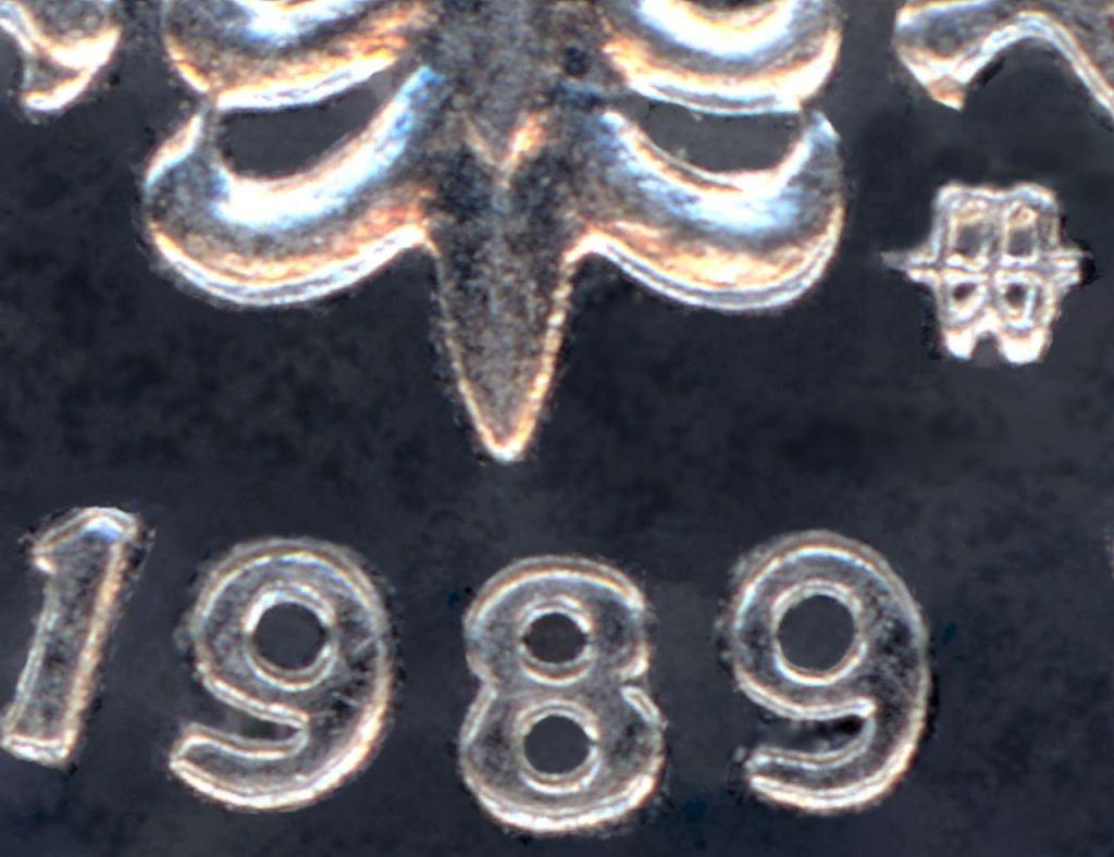 Znak mennicy na monecie