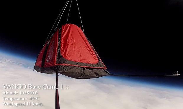 Namiot w kosmosie