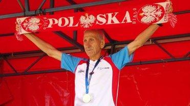 Jan Morawiec na podium