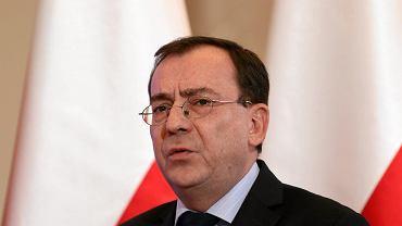 Poseł Mariusz Kamiński, prezes Zarządu Okręgowego warszawskiego PiS