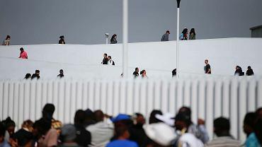 Granica Meksyku z USA. Tijuana, 9 czerwca 2019 r.