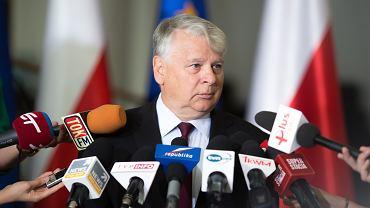 Wicemarszałek Senatu Bogdan Borusewicz