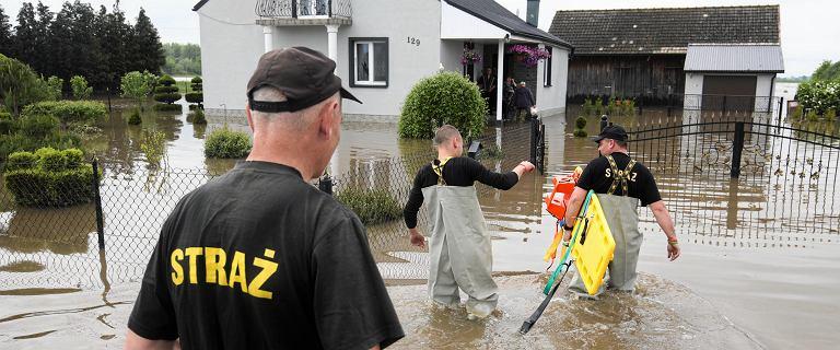 Wielka ulewa na Lubelszczyźnie. Kilkaset domów zalanych, straż ewakuowała ludzi łodziami