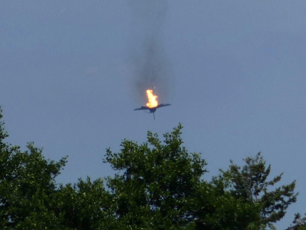 Zderzenie myśliwców Eurofighter