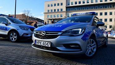 Podkarpacka policja wymienia auta - 45 nowych radiowozów