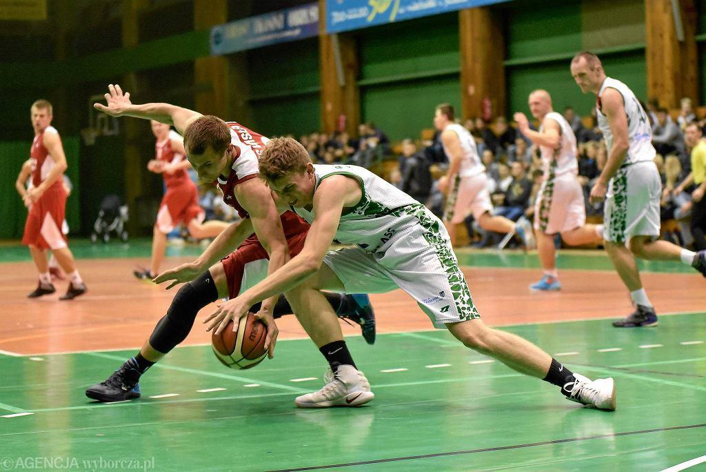 KU AZS Politechnika Częstochowska podczas meczu z Wisłą Kraków - 24 września 2016 r.