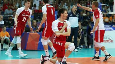 Polska - Niemcy 3;1. Na pierwszym planie Aleksander Śliwa