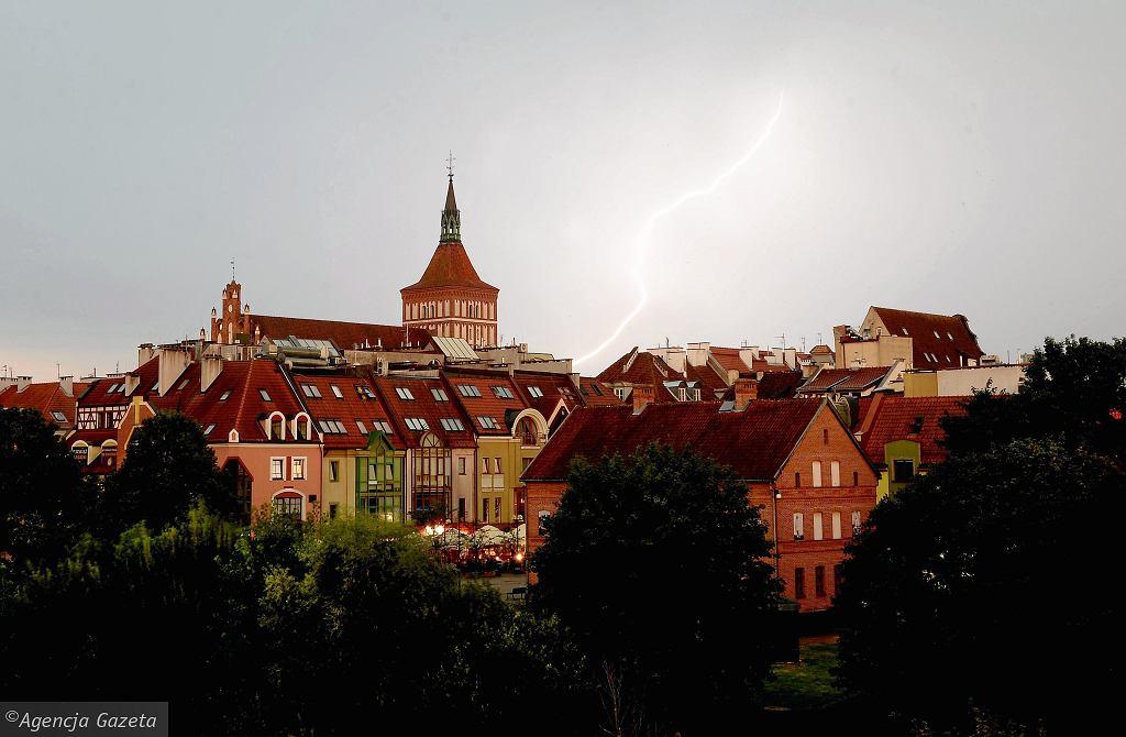 Gdzie jest burza? Radar burz pokazuje, że piorunów nie zobaczymy dziś tylko na północy Polski