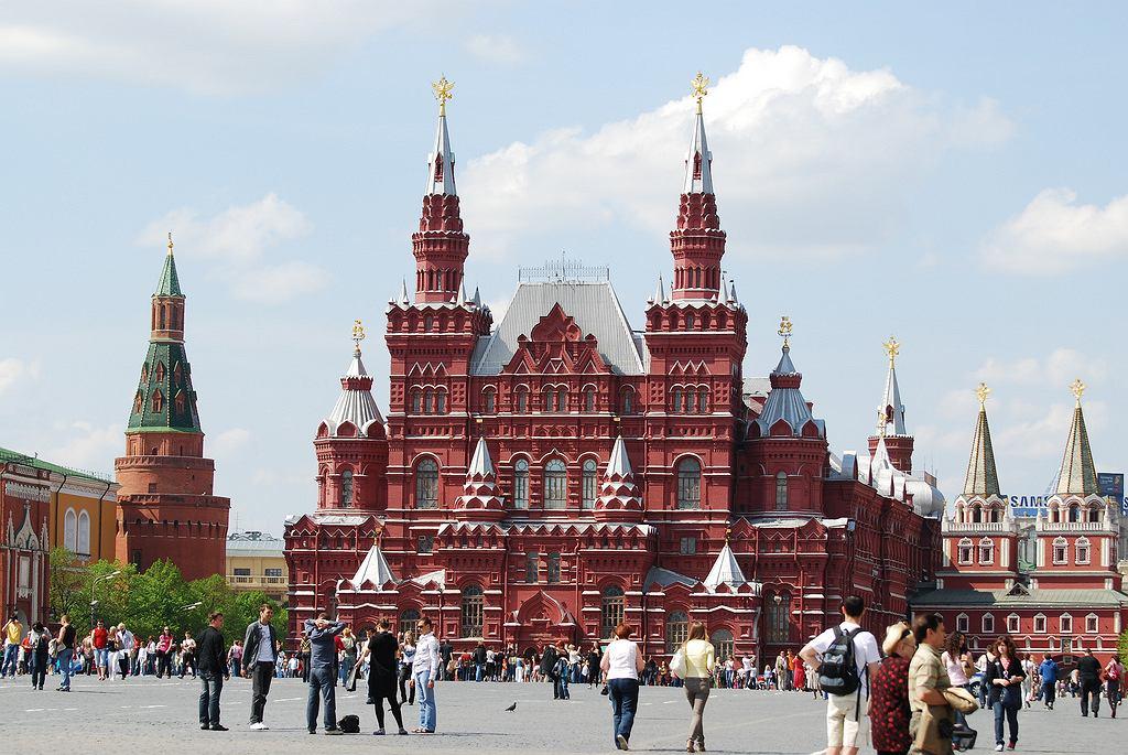 Moskwa - Plac Czerwony