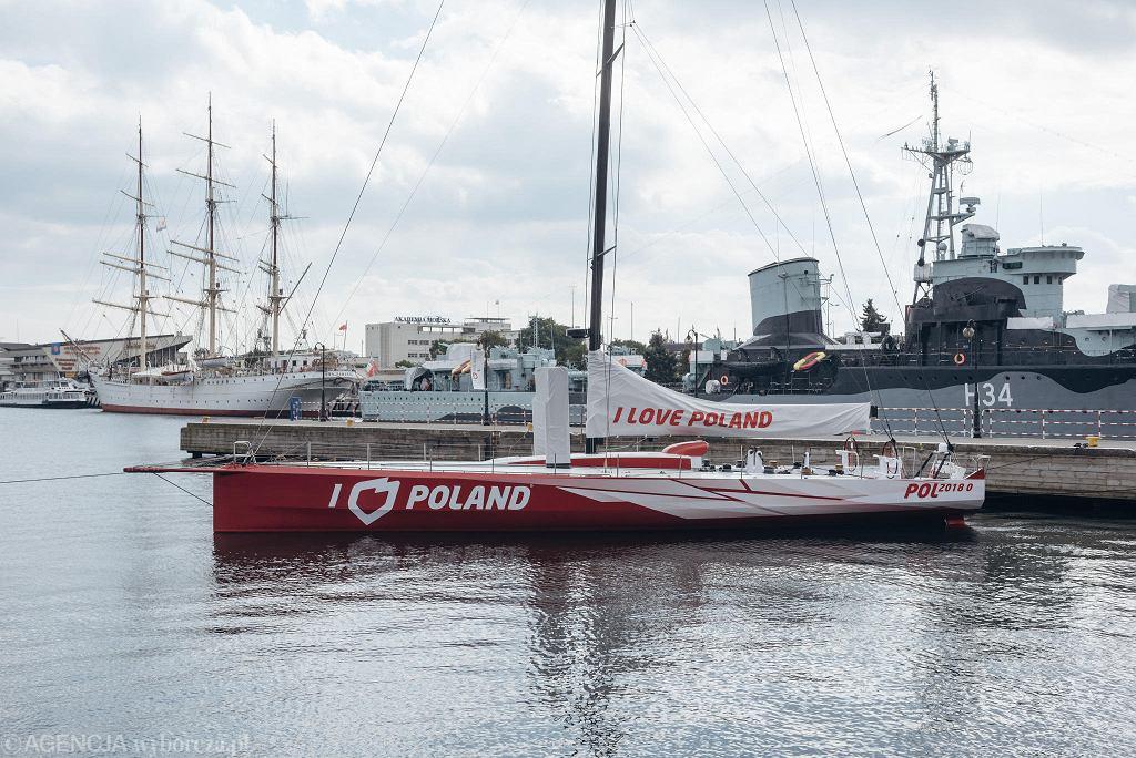 Jeden z projektów PFN. Jacht 'I Love Poland' miał promować wizerunek Polski
