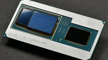 Procesor Intel ósmej generacji oraz układ graficzny Radeon RX Vega M