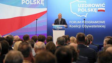Forum Programowe Koalicji Obywatelskiej w Warszawie #POrozmawiajmy