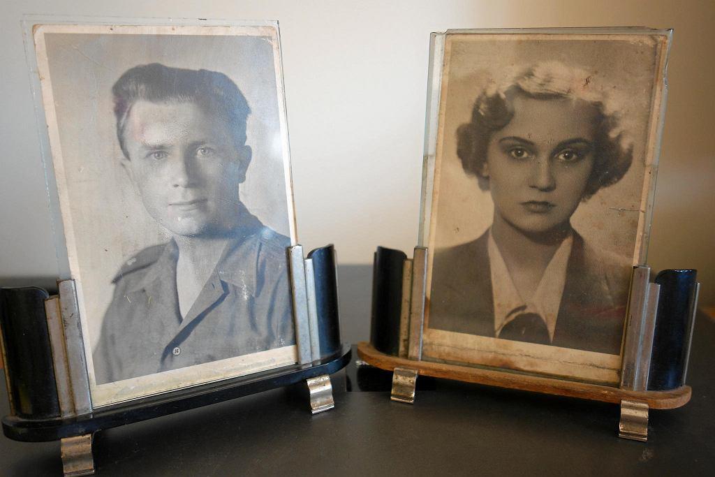 Janina Ambroziak i jej mąż Lucjan