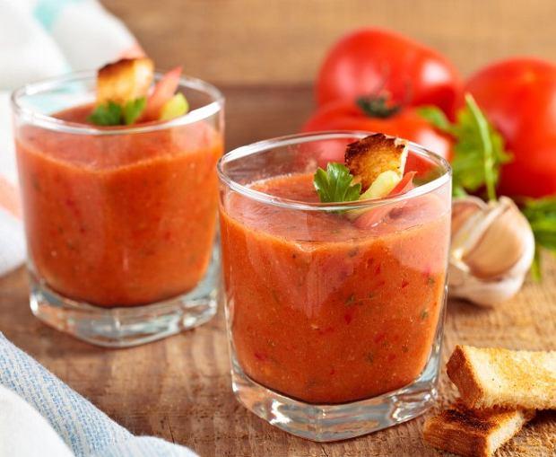 Gazpacho - hiszpańska chłodna zupa pomidorowa