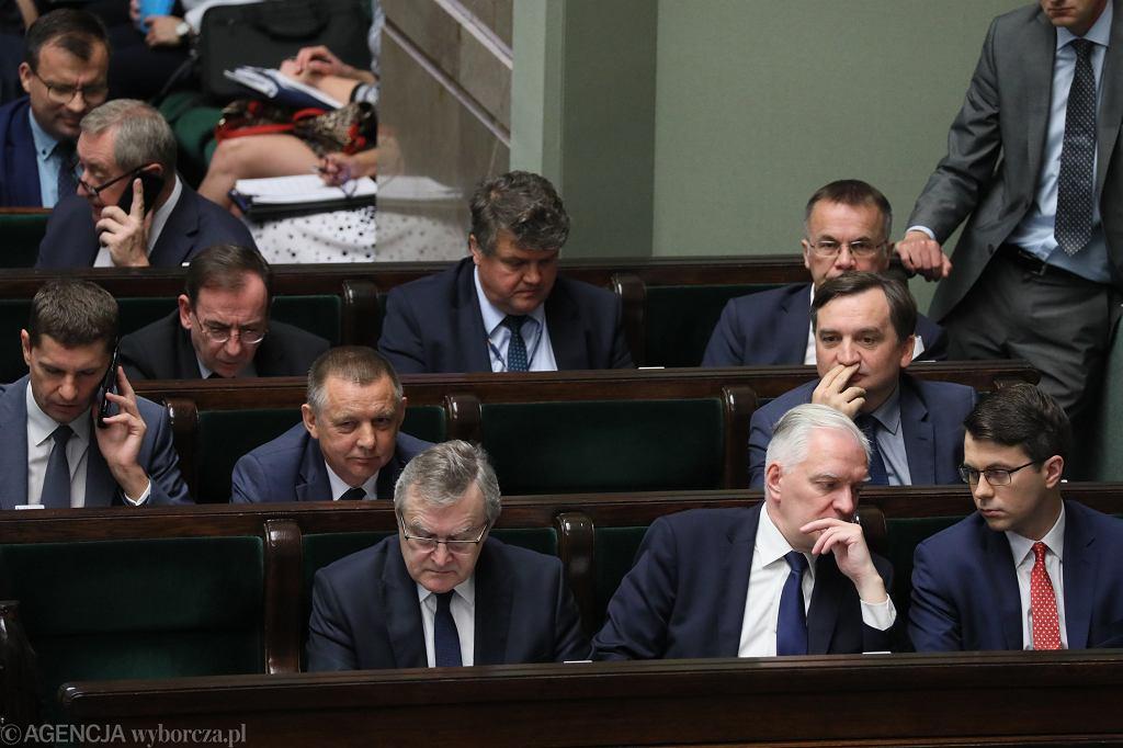 Marian Banaś, Zbigniew Ziobro i politycy PiS